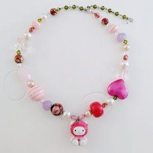 Tarina Tarantino Hello Kitty Swarovski Necklace
